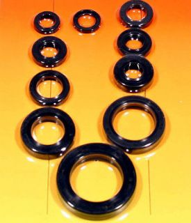 Honda CR 125, 1991 1992 1993 1994, Engine Oil Seal Kit   10 Pieces