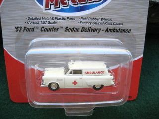Mini Metals (187)HO   1953 Ford Courier Sedan Delivery Ambulance SALE