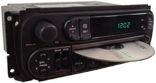 2002 TO 2005 DODGE RAM 2500 OEM FACTORY STEREO CD DISC PLAYER RADIO