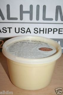 PUREST RAW REAL Grade A UNREFINED SHEA BUTTER 16oz 1LB