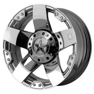 22x12 KMC XD Rockstar Chrome Wheel/Rim(s) 8x165.1 8 165.1 8x6.5 22 12