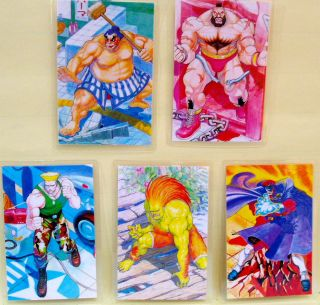 street fighter 5 lami rami idol cards honda vega blanka