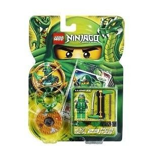 Lego Ninjago Green Ninja Lloyd ZX #9574 Spinner & Accessories New In