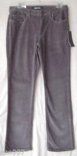 Kenneth Cole Reaction Mens Straight Corduroy Stretch Pants NEW $60 All