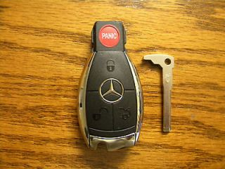 MERCEDES BENZ KR55WK49031 Keyless Remote Chrome Smart Key UNCUT 4