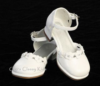 girls dress shoes white in Kids Clothing, Shoes & Accs