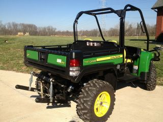 Barely Used 2012 John Deere Gator 825i Gas Version with Hydraulic 3