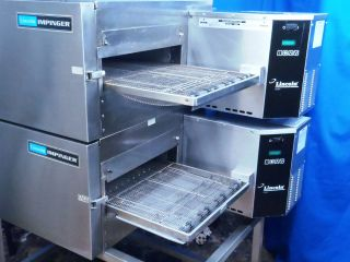1132 Lincoln Electric Impinger II Convection Oven with 2 decks