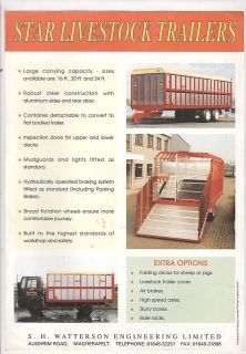 used livestock trailers in Business & Industrial