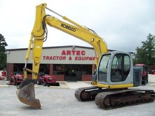 2005 KOBELCO SK135SR LC EXCAVATOR   LOADER  BACKHOE   ONLY 3850 HOURS
