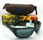 Polarized MAUI JIM Sunglasses CANOES MJ 208 02 65 18 Black w/Neutral