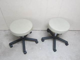 lot of 2 midmark ritter dental medical doctor stools time
