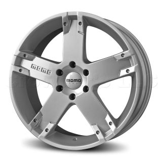 MOMO Car Wheel Rim Storm G.2 Silver 22 x 9.5 inch 5 on 150mm