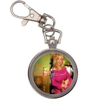 new dolly parton key chain keychain pocket watch from taiwan