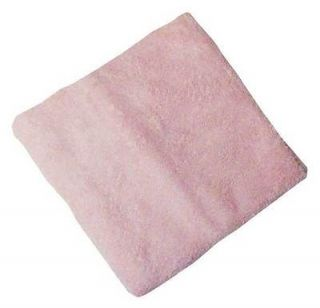 nojo coral fleece changing pad cover pink
