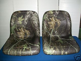 PAIR of MOSSY OAK/CAMO SEATS FOR JD JOHN DEERE GATOR, 4x2, 6x4, 4x4
