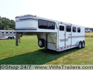 Horse Trailer ALUMINUM Slant Load $127 Monthly. No Hidden Reserve
