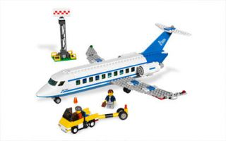 lego city passenger plan building toy 3181 309 pc new