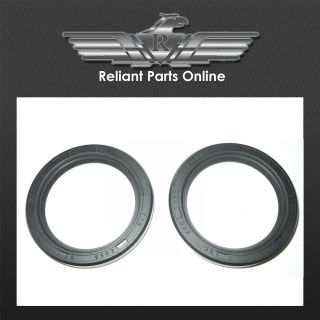 genuine reliant robin rear axle oil seals pair 25954 time