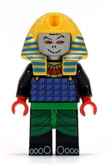 LEGO Adventurer ORIGINAL PHARAOH HOTEP Egypt Minifig Minifigure 5978