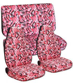 ford f 150 seat covers camo pink front rear time