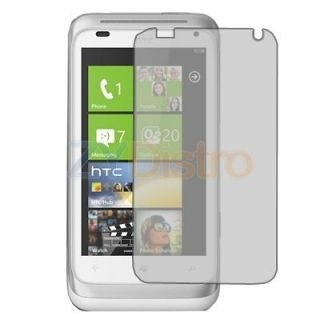3X Anti Glare Matte LCD Screen Protector Cover Film for HTC Radar 4G