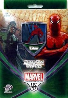 Marvel SPIDER MAN vs. DOC OCK VS. System TCG Starter Deck SEALED