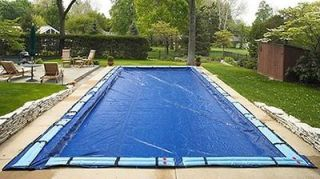 Winter Pool Cover Inground 18X36 Ft Rectangle Arctic Armor 12 Yr