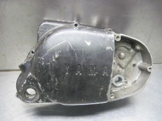 yamaha at1 dt125 1973 125cc right engine clutch cover time