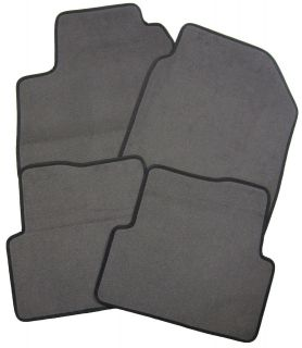 NEW OEM FACTORY GRAY FLOOR MATS CARPETED FLOORMATS FRONT REAR SET LEFT