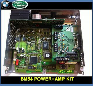 BMW / Rover BM54 sat nav radio module Power amp repair / upgrade kit