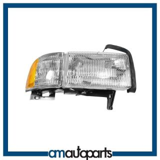 dodge ram pickup truck headlight headlamp w corner light passenger