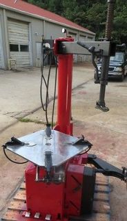 Tire Changer A9824 TI 24 Rim Clamp Air Used HEAVY DUTY SHOP GRADE