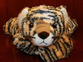 2001 Ty Tiger TYGERHUGS Rattle Stuffed Animal Plush Baby Toy Lovey