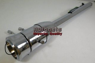 Chrome Stainless Steel Tilt Steering Column Chevy Ford GMC Manual
