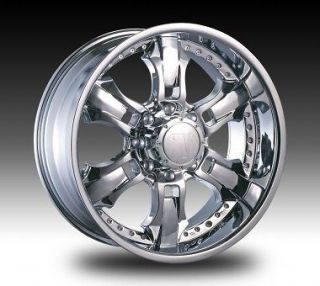 22 V650 new wheels Fit Dodge Chevy Ford Truck&SUV 8LUG