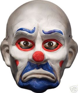 dark knight joker clown pvc masks two for one 2 masks  9 99