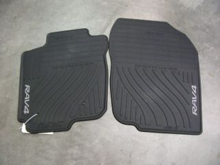TOYOTA RAV4 ALL WEATHER RUBBER FLOOR MAT PT908 4200W 20 (Fits RAV4