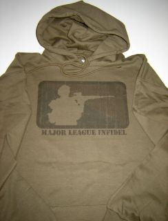 team infidel military army usmc marines funny hoodie