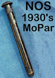 NOS 1930s MOPAR X LONG DOOR HINGE PIN, TRUCK CAB MIRROR PIN