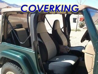 FULL SET Seat Covers for JEEP WRANGLER 1997 2002 (Fits Jeep Wrangler