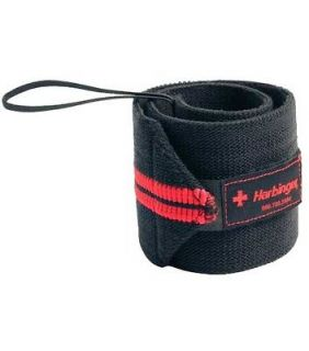 Harbinger Red Line Wrist Wraps 18 Weightlifting Power Lifting