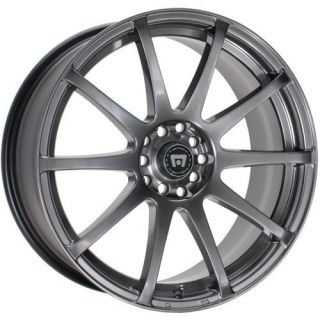 15 Inch Wheels Rims Motegi Racing SP10 Honda Civic Accord Scion 5 Lug