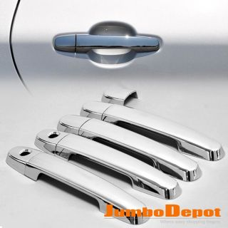 03 11 Toyota Corolla Chrome Door Handle Cover Trims Kit