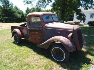 1937 Ford Pickup Truck Project Parts Car No Eng Trans