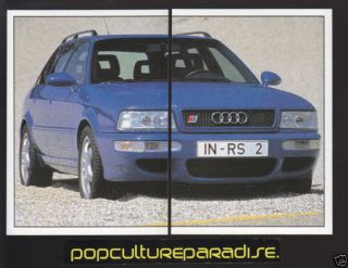 1994 AUDI AVANT RS2 PORSCHE Car 2 STICKER DECAL PAIR
