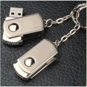 Metal Rotation 64GB USB Memory Stick Flash Pen Drive 64GB