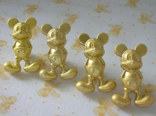 Pcs Cute Golden Colour Mickey Mouse Door Knobs Drawer Kitchen