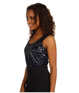 Anne Klein Sleeveless Sequin Tank Top    BOTH