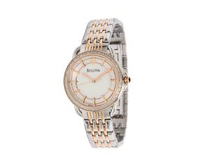 Bulova Ladies Diamond   98R144    BOTH Ways